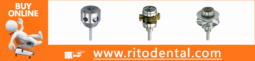 RT-R640 Kavo 640 Rotor / Dental Handpiece Rotor-Rito Quantily Products (CHINESE BEARING)