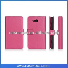 For Nokia Lumia 820 Case Leather Lumia 820 Luxury Case Cover For Nokia Lumia 820 Flip Case with Stand Function