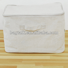 Vision Canvas Storage Box With Zipper