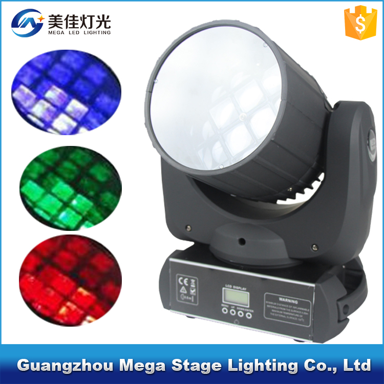 12pcs 10w 4in1 seven star beam led moving heads laser