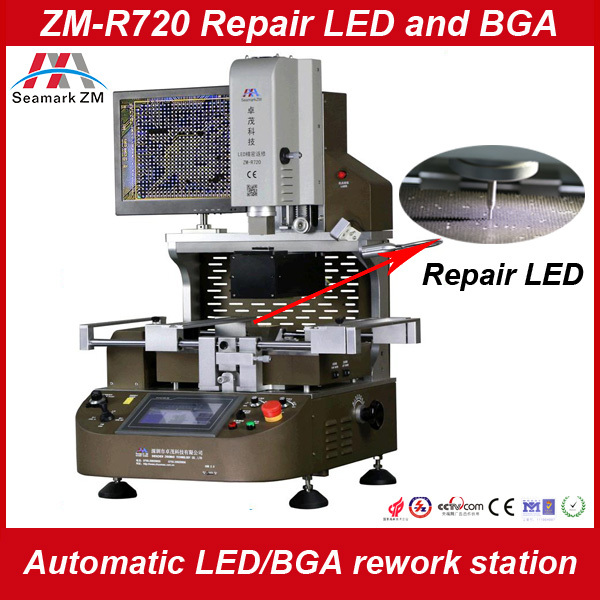 2015 new function solder machine ZM-R720 mobile IC repairing tools with optical alignment repair iphone motherboard 4s/5s/5c/6