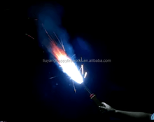 Liuyang Happy fireworks Hand Flare Signal Torch flame Smoke Torch Fireworks manufacturer