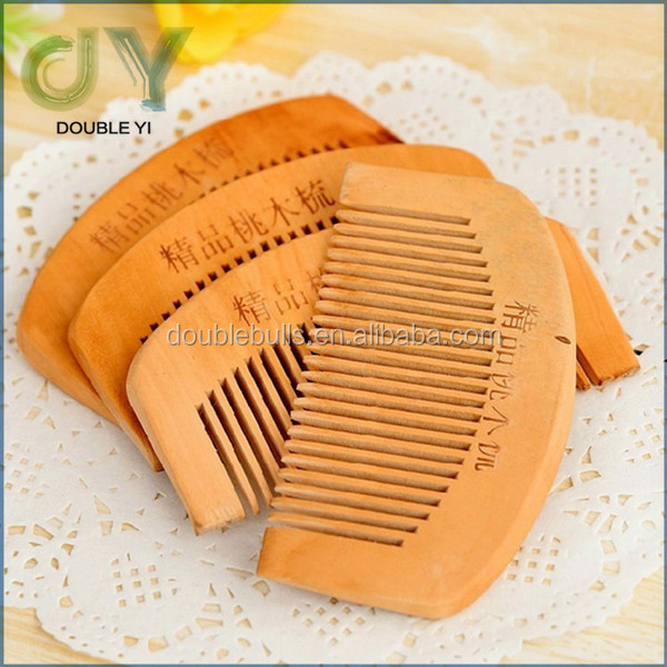 Hot sale New Beard Comb Wood / OEM logo cheap wooden beard comb