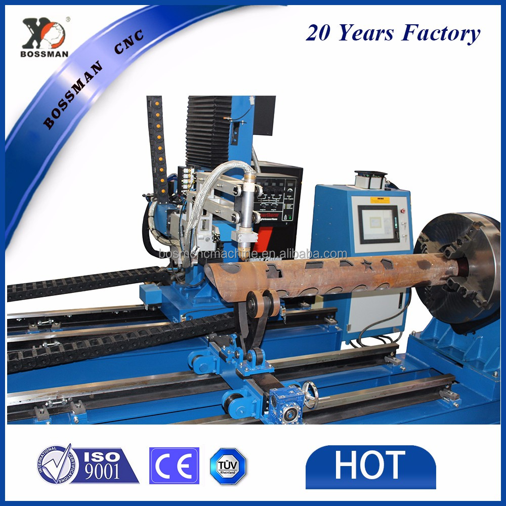 Jinan Bossman CNC Five Axis steel pipe cutting machine