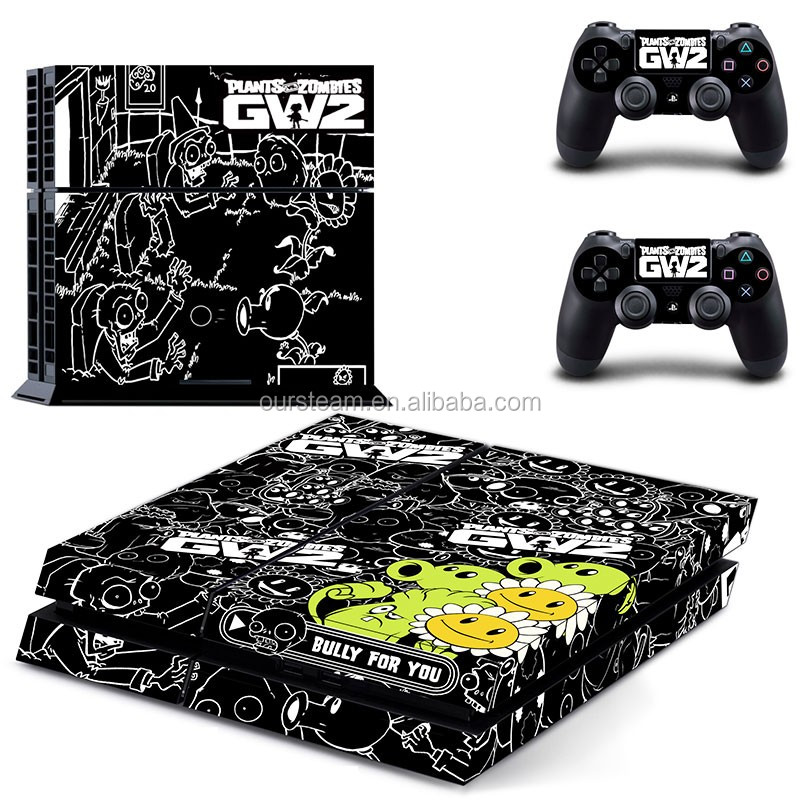 Skin Sticker Cover Textured Wood For PS4 Console and Controller Protector Skin