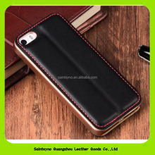 16162 Custom mobile phone leather case/book style leather case for mobile phone