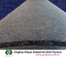 Black Color Felt for Glass Table Cutting,Glass Table Felt,Cutting Machine Felt