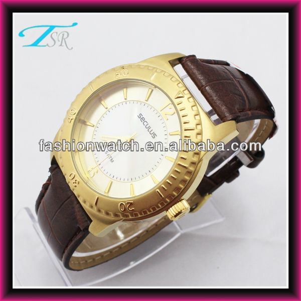 2016 IP Gold and Silver color case 42 mm top quanlity T/T Escrow waterproof japan movt quartz 316l stainless steel watch