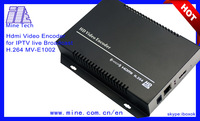 8 in 1hd iptv encoder for mpeg4 avc/h.264 headend equipment