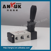 Factory wholesale Accurate and reliable hand brake valve, 2 port 5 way adjustable air control valve