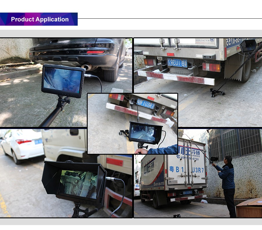 Factory Price Handheld Under Vehicle Surveillance System - Car Scanner, Under Car Inspection