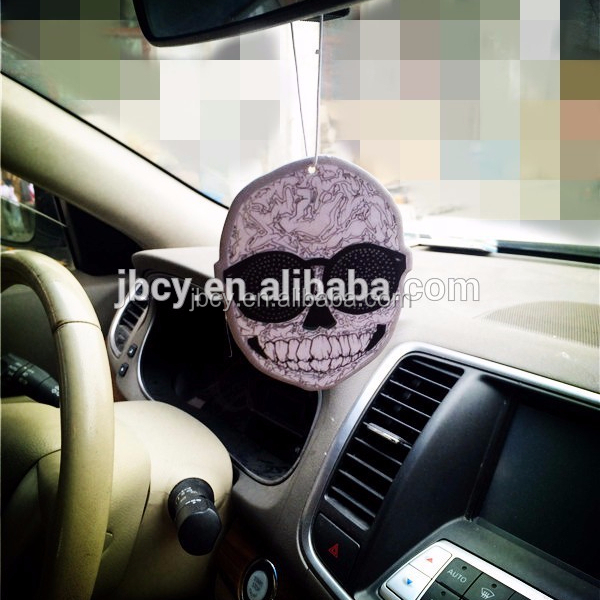 Skull Theme Absorbent Paper Air Freshener For Halloween Holiday