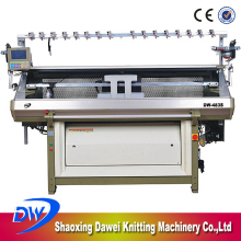 DAWEI DW-483S 48 Inch Three Knitting Method Fully Jacquard Computerized Commercial Sweater Knitting Machine With Comb Device