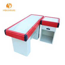 Wholesale shop use cash counter table with exit gate
