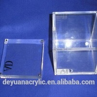 Thick Clear Acrylic Box With Magnet