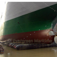 pneumatic rubber marine ship balloons for salvage sunken ships barges cargo,fishing boats launching