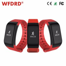 bokang digital blood pressure monitor smart pocket watch silicone wristband watches