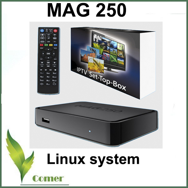 MAG 250 OEM Linux IPTV Set Top Box MAG 254 OEM TV BOX IPTV Subscription