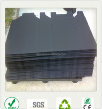 Black coroplast Polypropylene PP hard plastic corrugated honeycomb sheets
