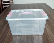16L Plastic Storage Box with Handle