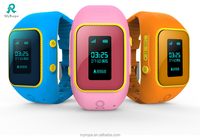 Real-time locator wrist watch gps tracking device for kids with free APP, Children gps watch