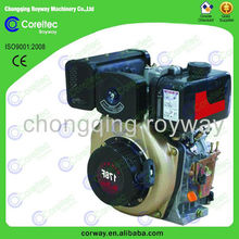 Hot sale 4-Stroke Air Cooling Strong Power Single Cylinder 6hp 170F Diesel Engine