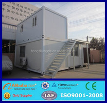 two storey prefab movalbe mobile 20ft shipping container office for sale