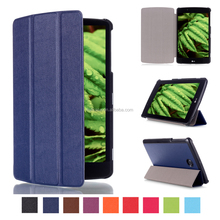 Hot Sell Tablet Accessories KST Pattern PU Leather Flip Cover for LG G PAD 2 8.0 V498