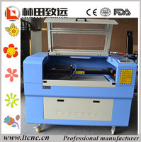 mini cnc laser cutting machine for wood crafts with rotary device 6040