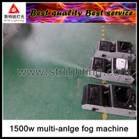 smoke/mist effect 1500w remote fog machine