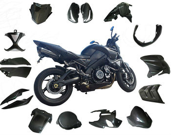 Autoclave carbon motorcycle parts for Suzuki B-King