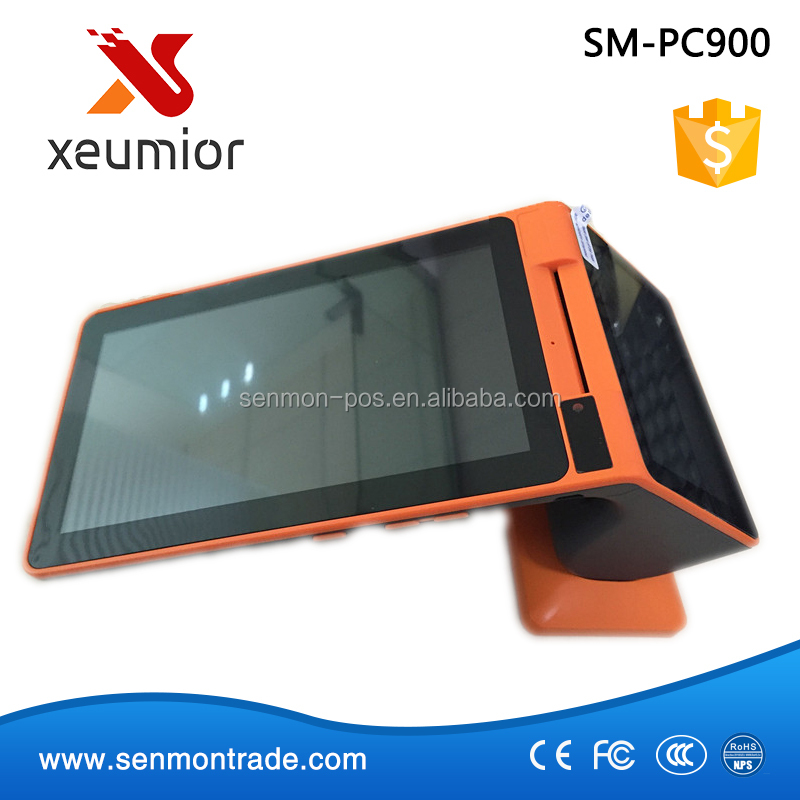 SM-PC900: Rugged Handheld Android POS Terminal i9000S with NFC reader