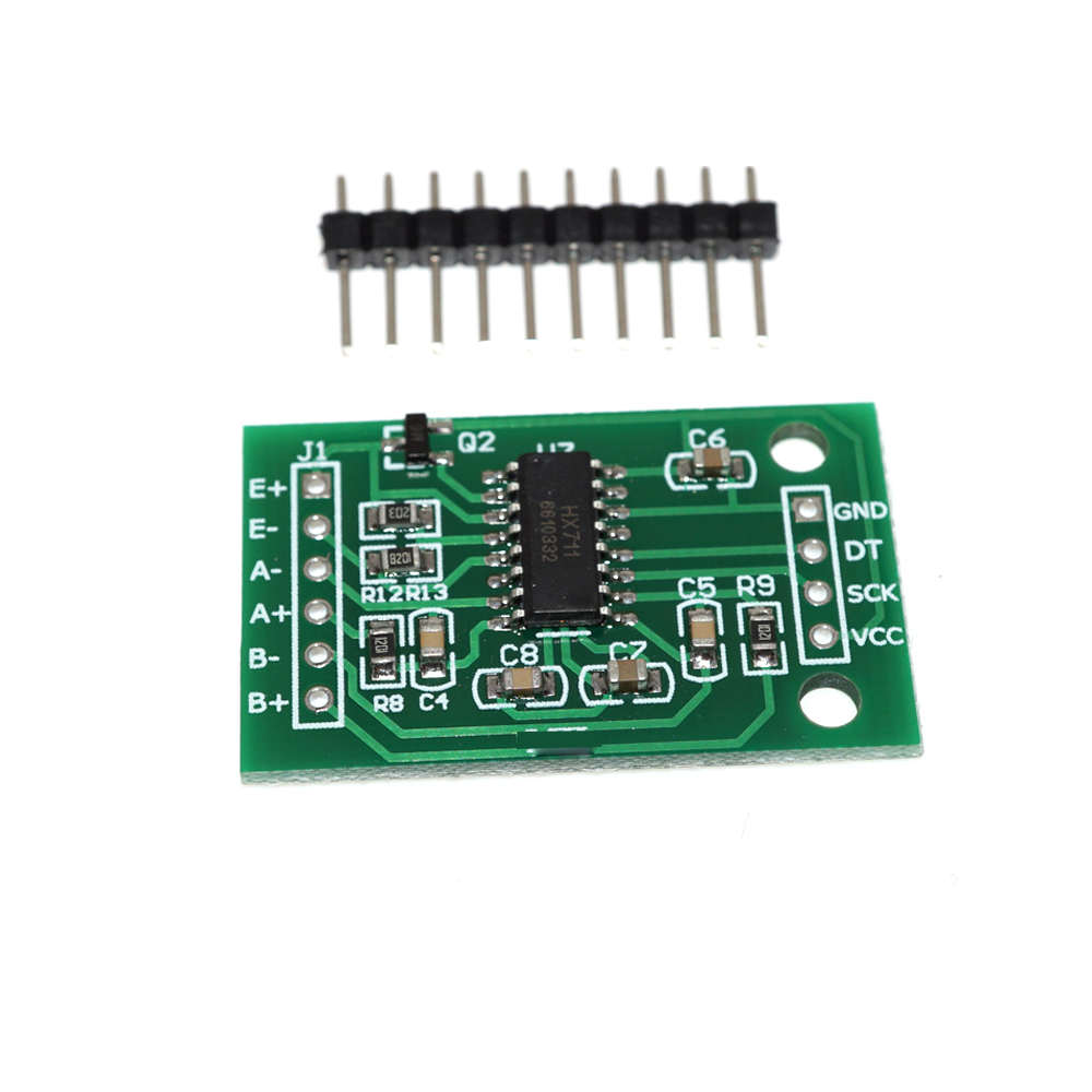Green 24 Bit Dual-Channel Precision AD HX711 Weighing Pressure Sensor <strong>Module</strong>