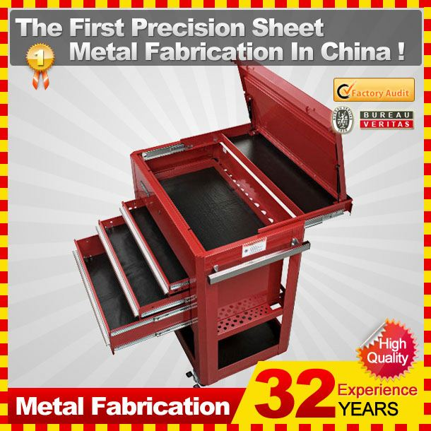 2014 Customized tool box side cabinet with 32-year Experience