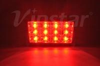 OEM Car Parts LED Brake Light F1 Style WRX LED Rear fog Lamp Sti Brake Light