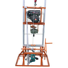 homemade water well drilling equipment; portable borehole drilling machines