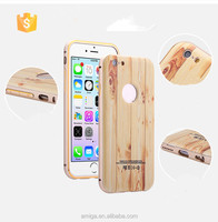 Wooden pc case Customized luxury design cell phone case for iphone 6s case