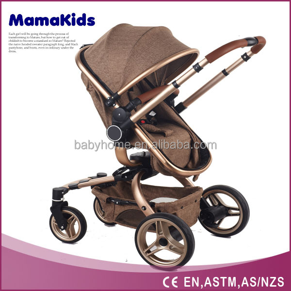china baby stroller luxury baby prams 3 in 1 with seat