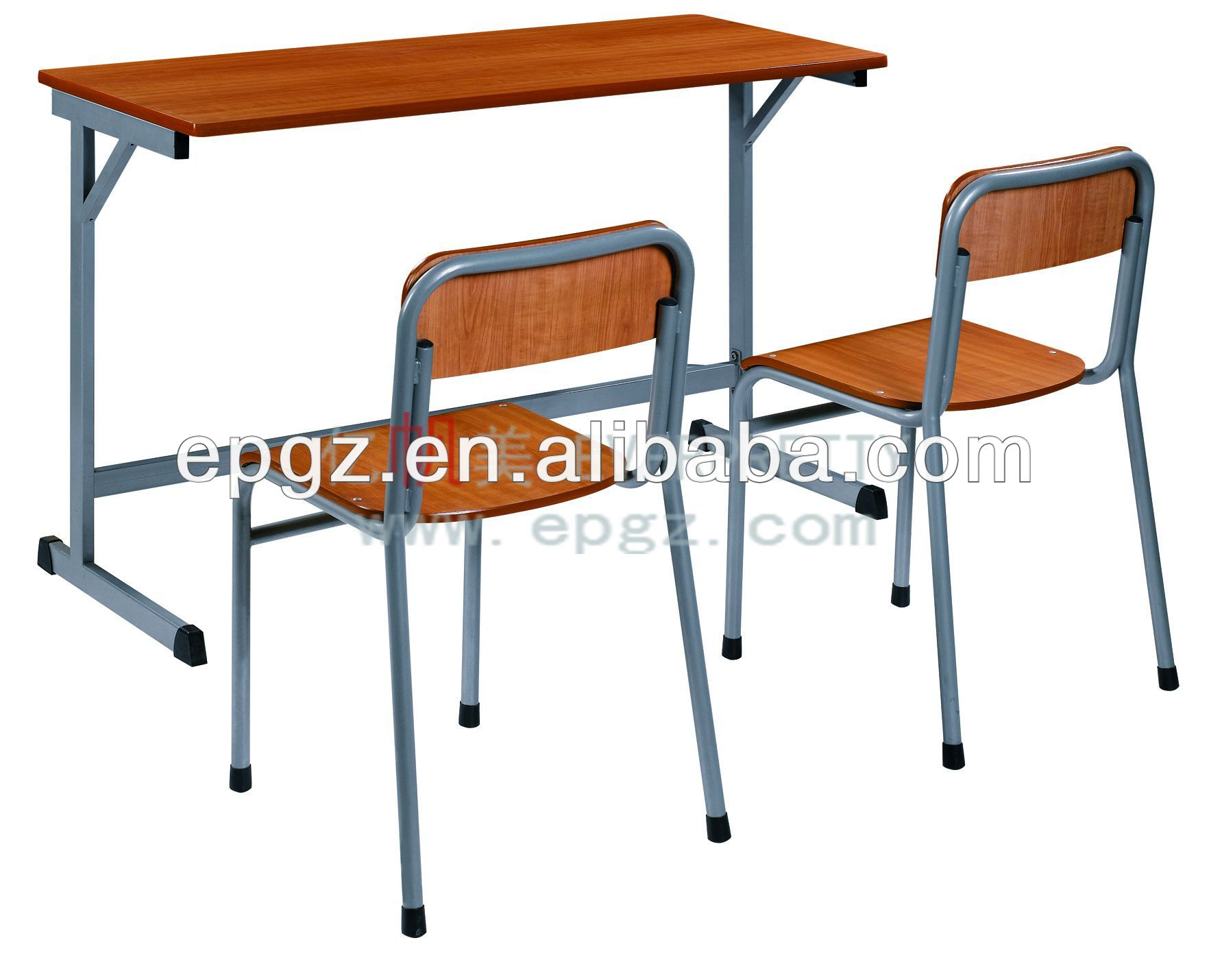 Double Classroom Bench & Chair,Two Seater School Dek & Chair