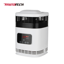 Tabletop White Small Mini Ptc Ceramic Electric Fan Heater For Home