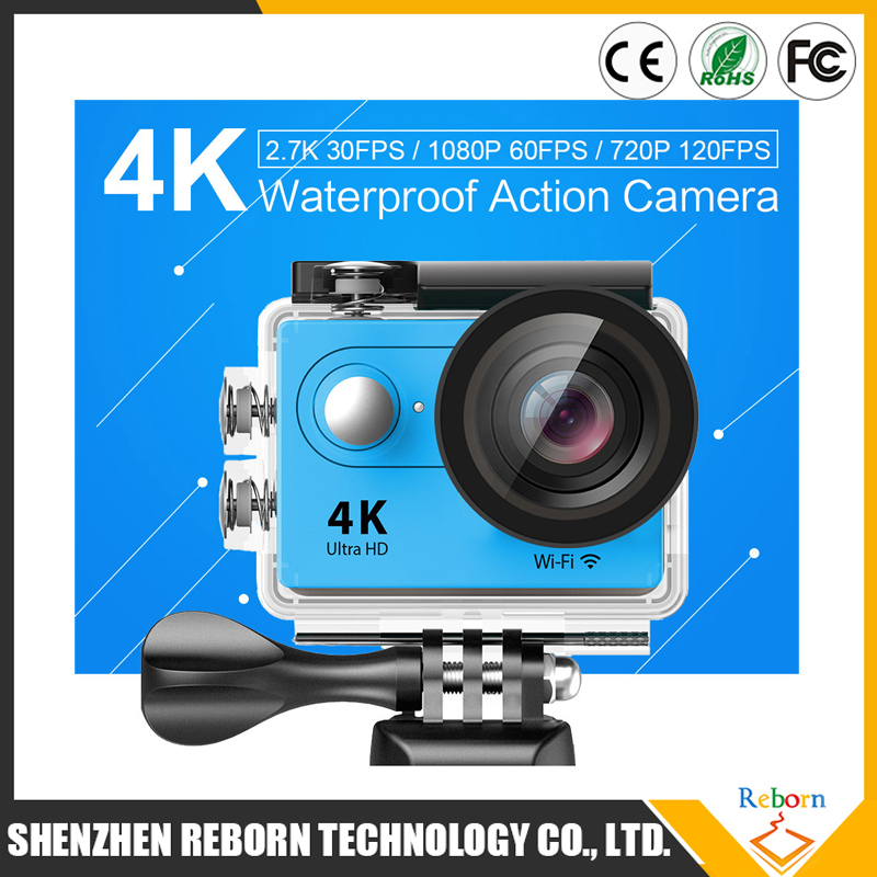 2.0 Inch H9 Sport DV Wifi 4k/25fps Ultra Wifi 4K Action Cam With 170 Lens