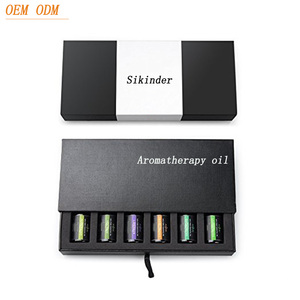 Guangzhou factory OEM ODM Aromatherapy 100% pure 10 ml gift essential oil set 6