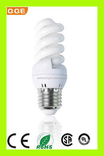 Full spiral 15W energy saving light ,factory direct sale