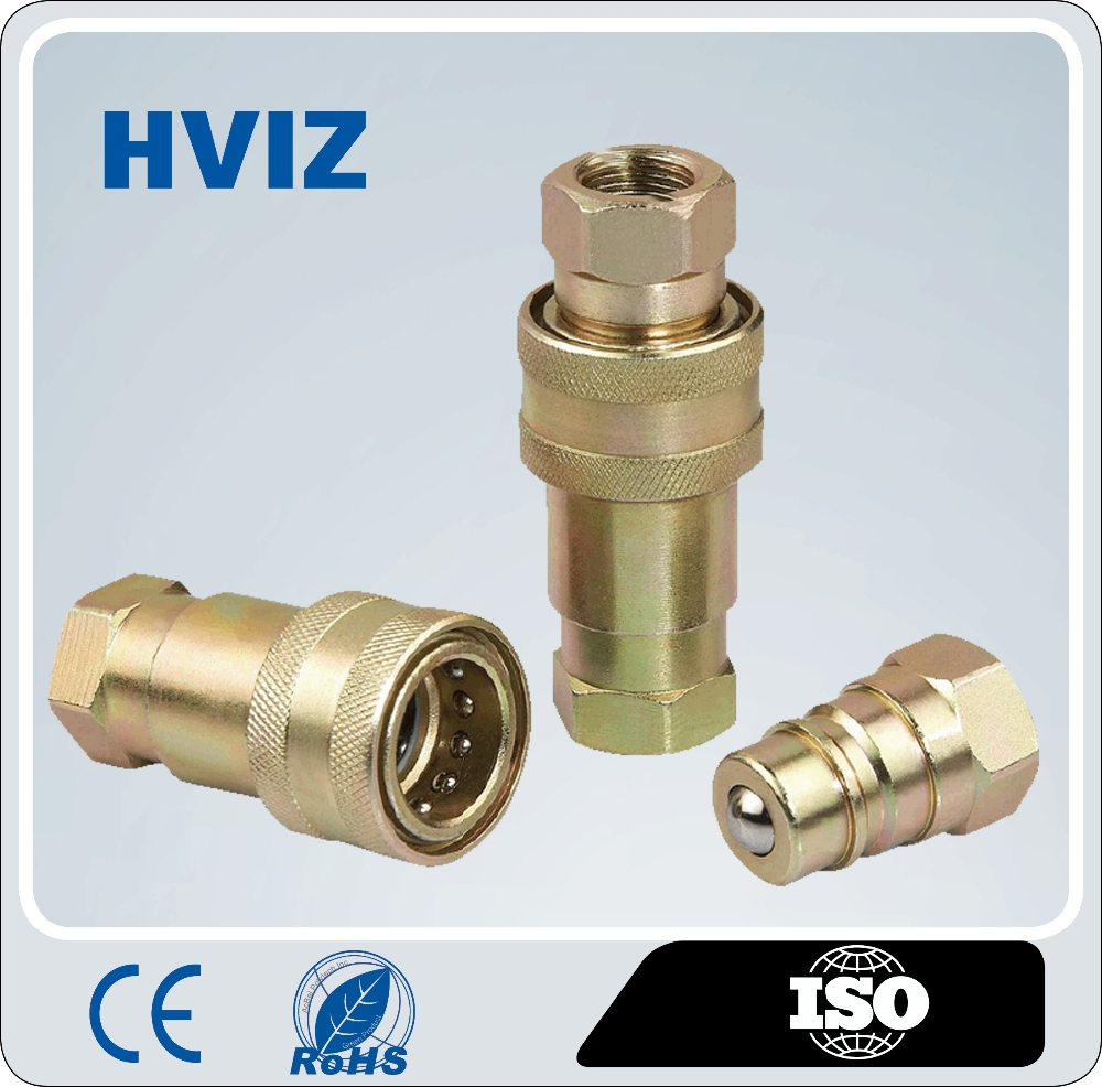 High performance china manufacturer hydraulic Quick Release Coupling hz-c1 brass fitting