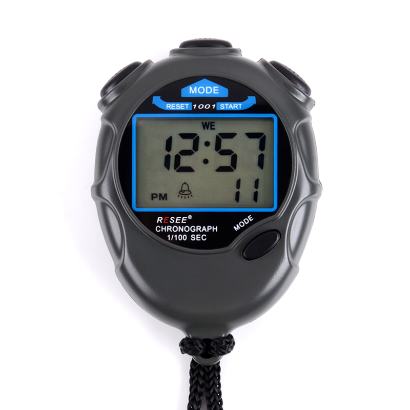 New Handheld LCD Portable Electronical digital stopwatch large display stopwatch mini stopwatch