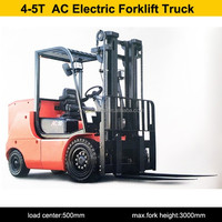 Material Handling Equipment 4ton AC electric forklift truck for sale
