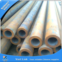New design erw black or bright steel pipe for furniture with competitive advantages