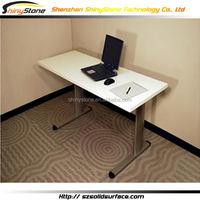 Amazing cafe bar acrylic solid surface office furniture market size