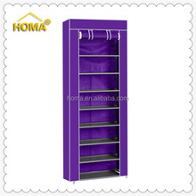 Portable fabric cover shoe storage rack for sales