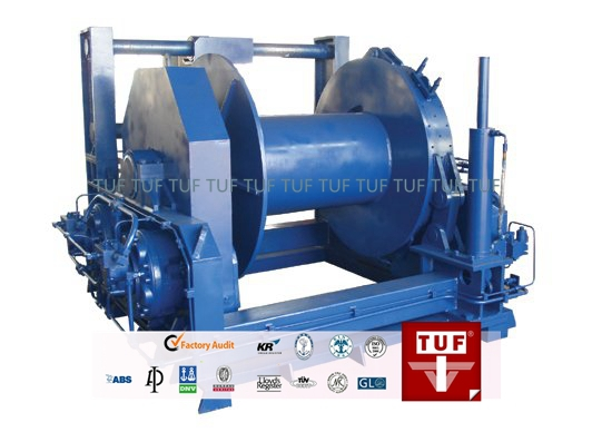 Marine hydraulic winches/single drum/ double drum